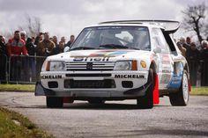 Peugeot 205 T16 E2 rally car