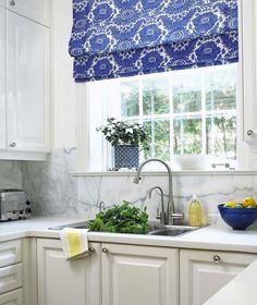 terracotta properties - kitchens - navy blue, walls, chair rail
