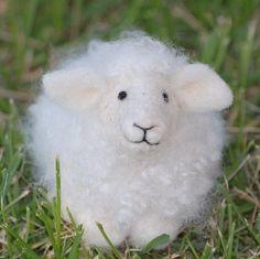 Sheep Needle Felting kit  DIY kit by BearCreekDesign on Etsy, $25.00