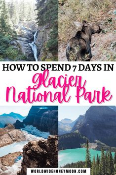 The Ultimate Glacier National Park Itinerary | Glacier National Park Montana | Glacier National Park Photos | Glacier National Park Packing List | Glacier National Park Itinerary Hiking | Glacier National Park Itinerary Bucket Lists | Glacier National Park Itinerary Travel | Glacier National Park Itinerary Trips | Glacier National Park Itinerary One Day | 7 Days in Glacier National Park | 3 Days in Glacier National Park | 5 Days in Glacier National Park Canada Travel, Usa Travel, Travel Tips, National Parks Map, National Park Posters, Park Photos, Bucket Lists, Adventure Travel, Places To Travel