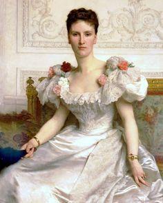 Madame la Comtesse de Cambaceres  by William Bouguereau (ARC)