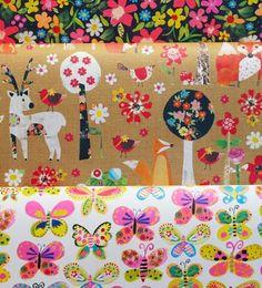 print & pattern: CARDS & WRAP - paper salad