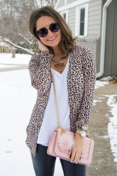 Leopard Print Cardigan at Nectar Clothing | My Style | Pinterest ...