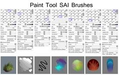 SAI brushes by Isihock.deviantart.com on @deviantART