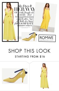 """romwe 4/IV"" by obsessedwithnicestuff ❤ liked on Polyvore featuring romwe, romwefashion and fashioncombination"