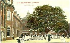 Old Photos of Liverpool, Maps and Liverpool History eBooks Liverpool Town, Liverpool History, Old Photos, Old School, Schools, 4x4, Street View, Antique Photos, Old Photographs