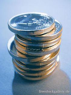 Geldstapel mit Euromünzen - Geld Gratis Download, Business, Money, Free Images, Kunst, Store, Business Illustration