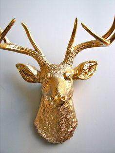 Faux Taxidermy Deer Head wall mount