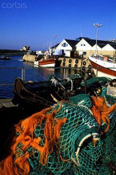 Fishing harbor of Quiberon ~ Brittany