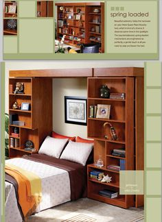 Love these Murphy Beds   from More Space Place - Wilmington, NC