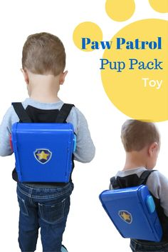 The Paw Patrol Pup Pack Toy!  Read our review, see what you think!