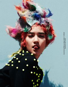 Mona Matsuoka for TUSH Magazine by Takahiro Ogawa