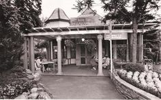"""""""I got this newspaper photo from the Denver Post showing the opening of a Don The Beachcomber's at what had been the Orchard Cafe in Elitch's Gardens amusement park in Denver. """""""