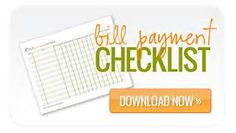 of all of your bills with our free printable bill payment checklist ...