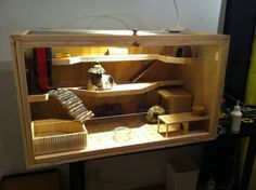 EDIT: You find the detailed step by step guide for building this hamster cage here – Building your own hamster cage step by step guide If you have seen Hazels big hamster cage in some of my p…
