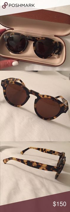 Illesteva sunglasses Brown lense. Tortoise. Perfect condition. Illesteva Accessories Sunglasses