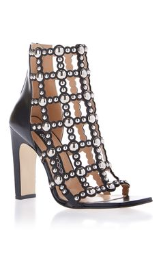 Cage Studded Sandal by SERGIO ROSSI for Preorder on Moda Operandi