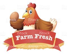 poultry label royalty-free stock vector art