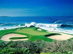 Beautiful Golf Courses Around The World: Pebble Beach