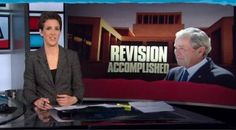 Rachel Maddow Compares George W. Bush's Revisionist History to the Poop Cruise