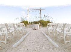 Beaching Wedding Ceremony