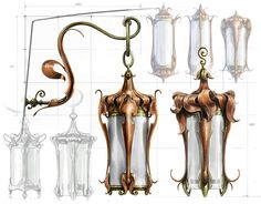 Dawn Treader Map Room Lanterns - Movie: The Chronicles of Narnia: The Voyage of the Dawn Treader