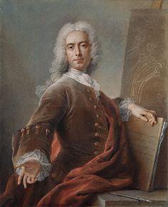 Charles-Antoine Coypel - self portrait - 1734