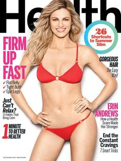 Erin Andrews for Health July/August 2017