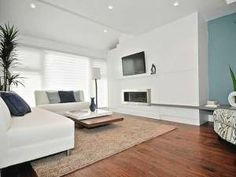 Property Brothers- Raun and Jasprit All White Room, White Rooms, Property Brothers, Elegant Home Decor, Elegant Homes, Living Room Decor, Living Spaces, Living Rooms, Dream Home Design