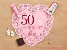 50 Inexpensive Valentine Gift Ideas for Him, Her, and the Kids all under $20!