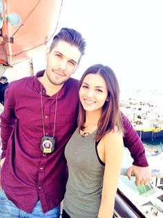 Casey Deidrick and Victoria  #eye candy