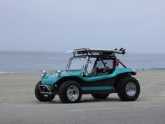 Dale's beautiful buggy at Zuma Beach