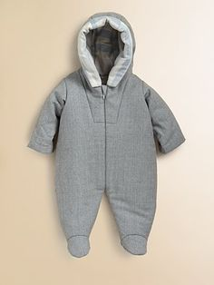 0d2f1fad0860 Burberry Infant s Charlie Virgin Wool Snowsuit  147 Baby In Snow