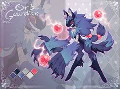 Scarfox Auction - Orb Guardian (Closed) by Kakiwa on DeviantArt Magical Creatures, Fantasy Creatures, Different Forms Of Art, Creature Drawings, Furry Drawing, Anthro Furry, Fox Art, Monster Art, Cartoon Design