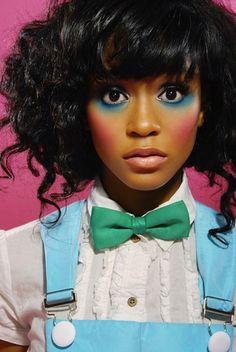 Dolled Up!Model/Singer: Simone BattleTwitter/Instagram: @simonebattleMakeup/Photographer/Hair: Unknown