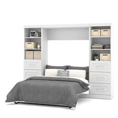 "Check out our web site for even more information on ""murphy bed diy"". It is an outstanding location to learn more. Full Murphy Bed, Murphy Bed Desk, Murphy Bed Plans, Adjustable Beds, Adjustable Shelving, Drawer Storage Unit, Bed Storage, Modern Murphy Beds, Modern Beds"