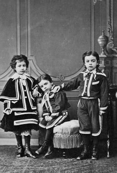 1866. Italian children by Alinari brothers in Florence.