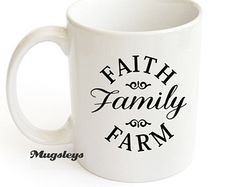 Faith Family Farm Coffee mug