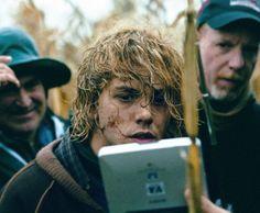 Xavier Dolan On The Set Of Tom At The Farm (2014).