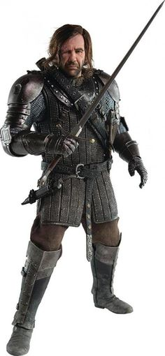 Game of Thrones The Hound Sandor Clegane Action Figure Model Vinyl PVC Toy Gift