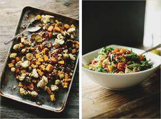 Based on True Food Kitchen roasted vegetable ingredient salad.