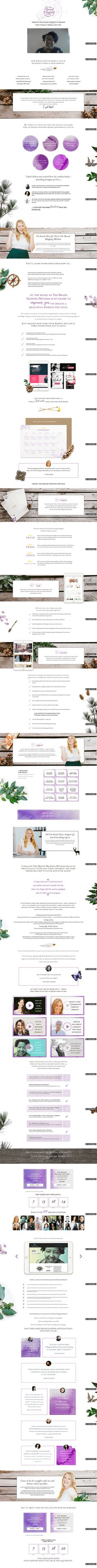 84 best inspiration sales pages images on pinterest design love the purple here fandeluxe Image collections