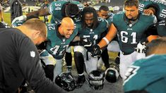 La foi unie en Christ des joueurs de Philadelphie les a portés jusqu'à leur première victoire dans la plus grande compétition de football américain. (photo : CHRIS SHIPLEY / THE MORNING CALL)