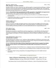 personal assistant resumes samples