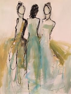 Holly Irwin Fine Art - The little thins - Event planning, Personal celebration, Hosting occasions Figure Painting, Painting & Drawing, Figure Drawing, Art Des Gens, Art Actuel, Art Sur Toile, Art Et Illustration, Art Moderne, People Art