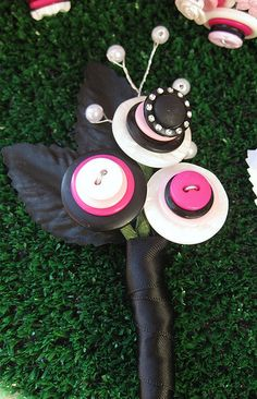 Groom Button Boutonniere by rbkcreations, via Flickr