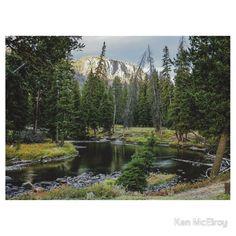 Slough Creek Campspot by Ken McElroy