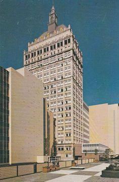 19 Story Kodak Tower, Rochester, New York
