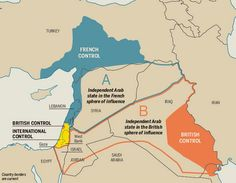 The Sykes-Picot treaty that carved up the Middle East You hear a lot today about this treaty, in which the UK and French (and Russian) Empir...