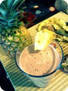 Creamy Pina-Banana. Click the pic for the recipe. Get your Shakeology for your recipe at: santofitlife.com/Shakeology